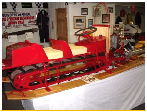 History Of The 1st Snowmobile