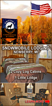 Newberry Snowmobilers welcome.